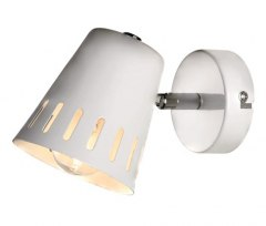 1 WALL LAMP EMMA SPOT WHITE