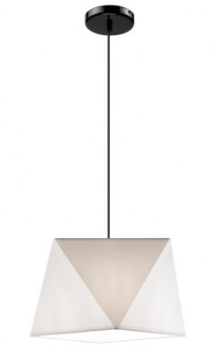 1 SINGLE LAMP CARLA SHADES DIAMOND LOFT, VINTAGE GLAMOUR BLACK