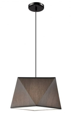 1 SINGLE LAMP CARLA SHADES DIAMOND LOFT, VINTAGE GLAMOUR GRAY