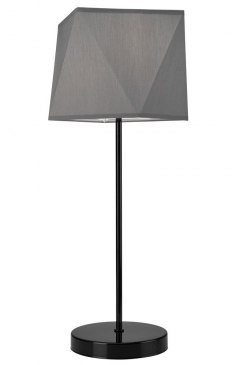 1 CARL NIGHT LIGHT SHADES DIAMOND LOFT, VINTAGE GLAMOUR GRAY