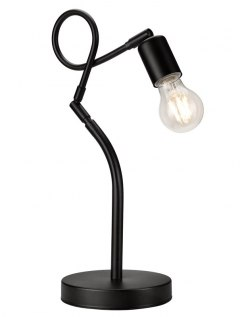 1 NIGHT LAMP HARRY LOFT, INDUSTRIAL BLACK