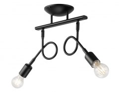 2 CEILING LAMP HARRY LOFT, INDUSTRIAL BLACK